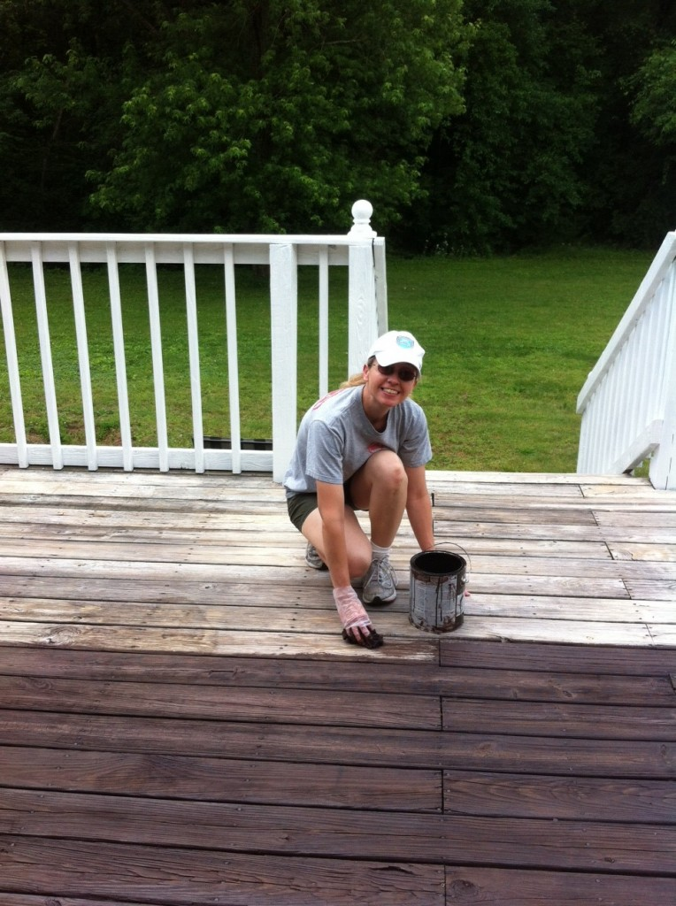 Deck Painting Amp Staining Mom In Music City