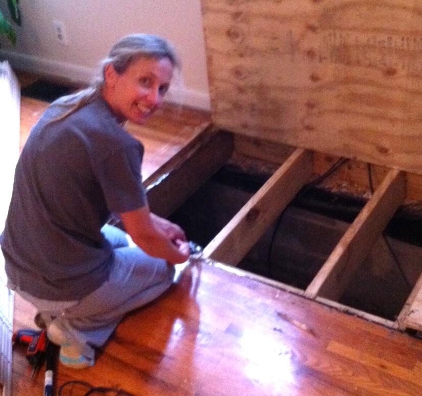 Hardwood Floor Repair Mom In Music City