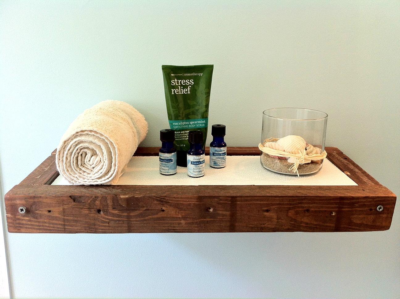 Diy Floating Vanity Cabinet. Chunky Floating Shelf DIY  Mom in Music City