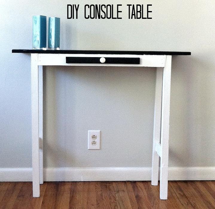 Diy Console Table Mom In Music City