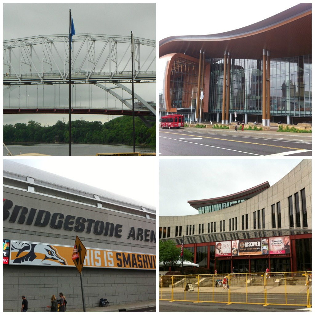 Riverfront, Music City Center, Bridgestone Arena, Music City Hall of Fame Museum