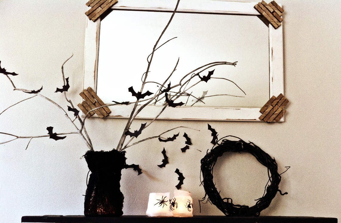 sophisticated & fun halloween decorations for under $5 - mom in