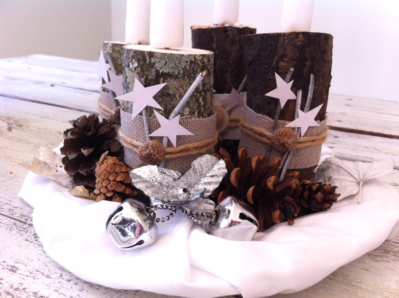 Diy advent wreath mom in music city - Pinterest advent ...