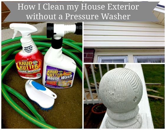 Clean Your House Exterior Without a Pressure Washer