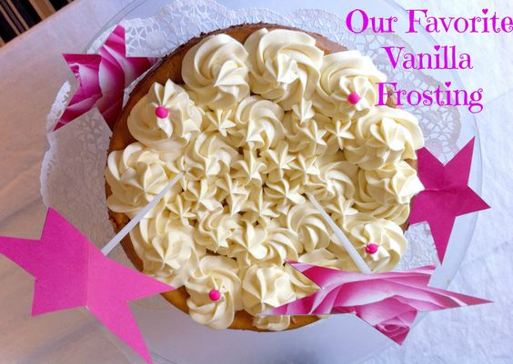 Vanilla Frosting with Condensed Milk