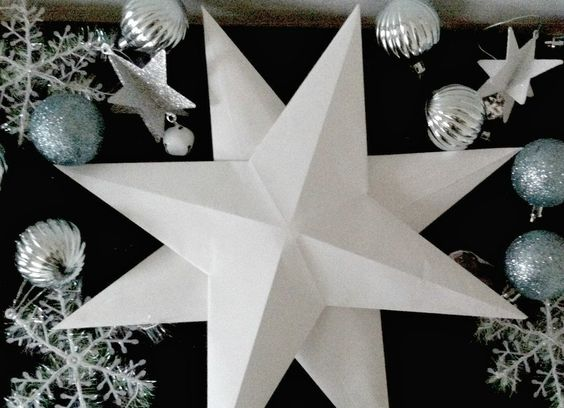Easy 3D Paper Star Tutorial
