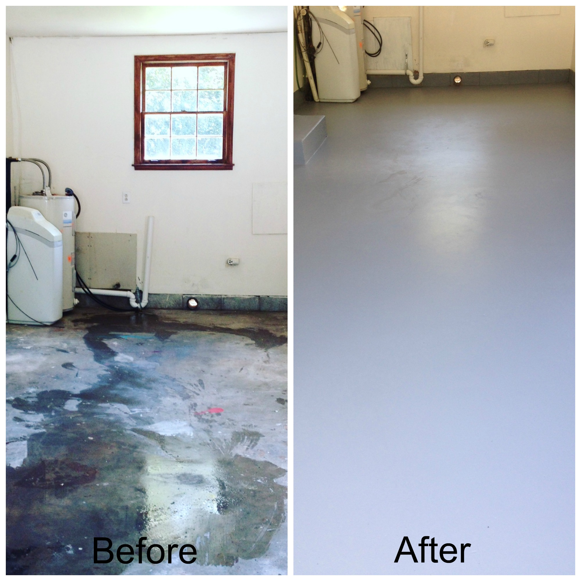 How to apply garage floor paint mom in music city for Painting garage floor