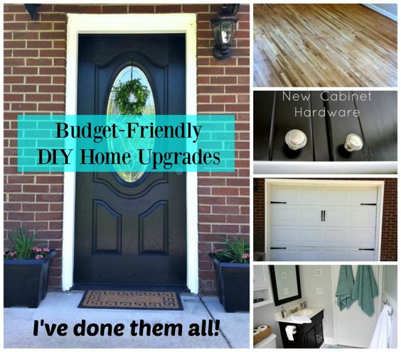 Budget-Friendly DIY Home Upgrades… I've Done Them All