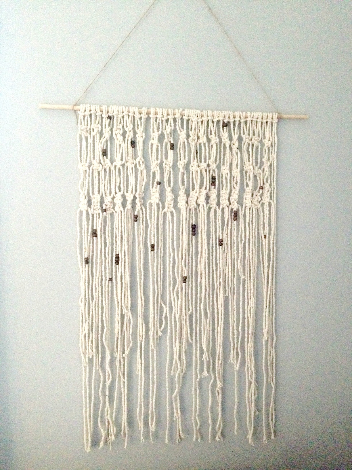 DIY Macrame Wall Hanging