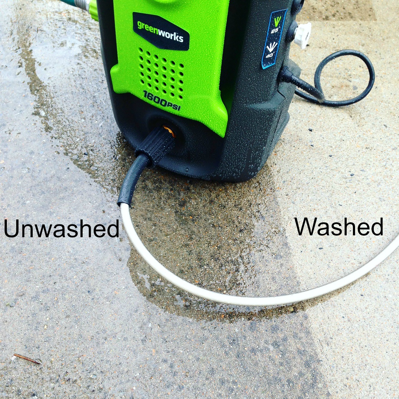 Power Washing Brick, Cement & Wood + GIVEAWAY