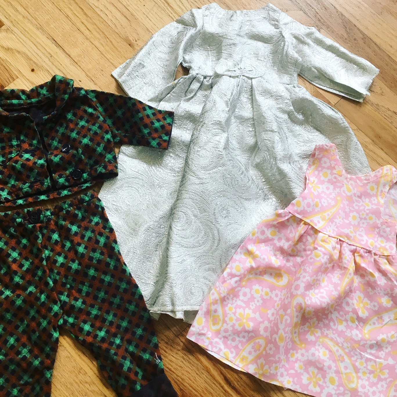 Vintage Doll Clothes Made By Grandma
