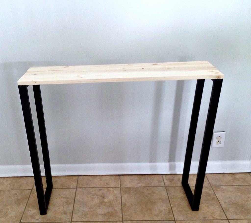 modern entryway table