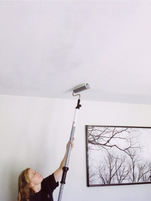 Painting Ceilings The Easy Way