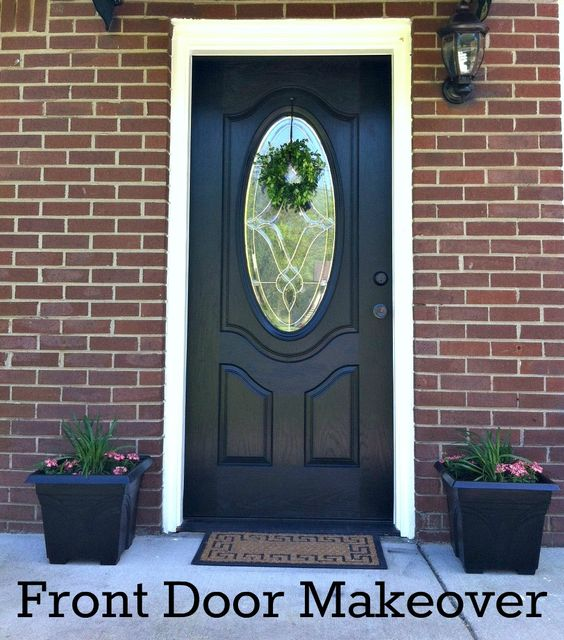 Elegant Front Door with Modern Masters Front Door Paint