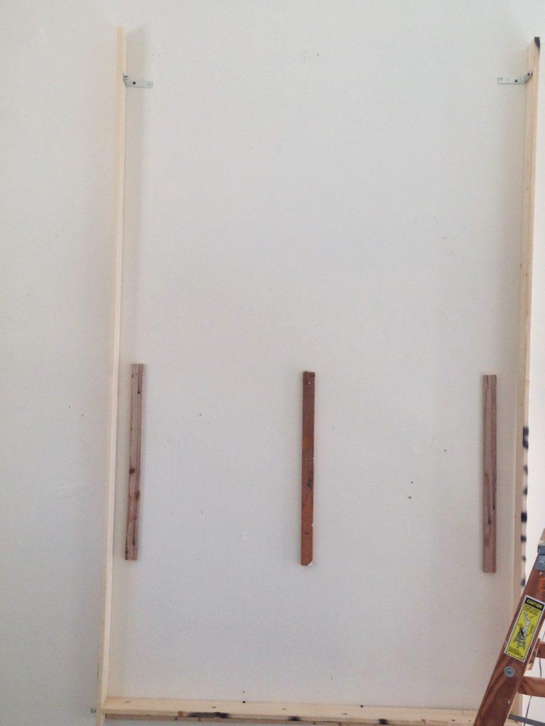 Diy wall storage