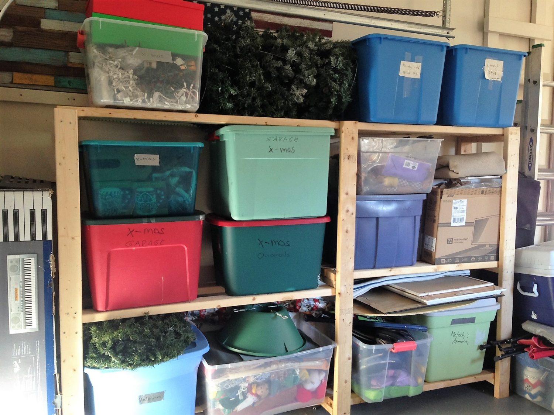 More Inexpensive DIY Garage Storage