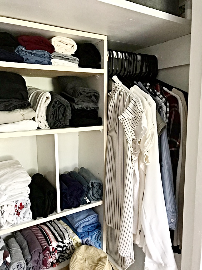 Inexpensive Closet Upgrade