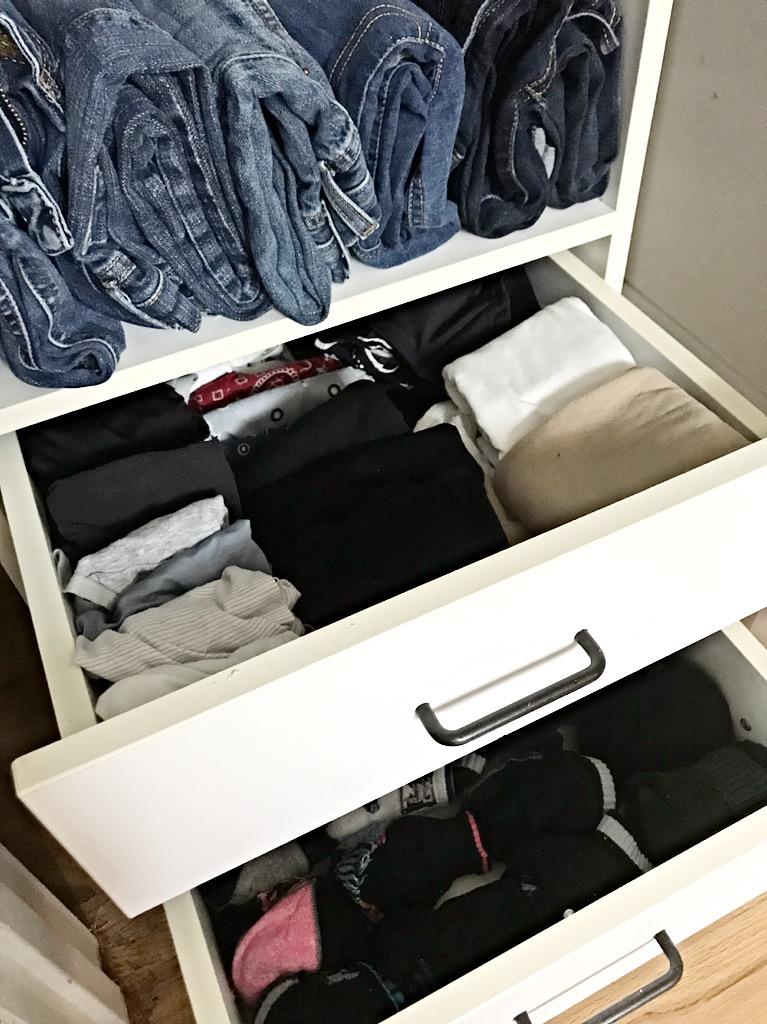 closet drawer
